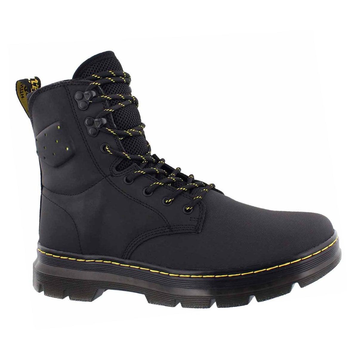 Men's QUINTON black combat boots