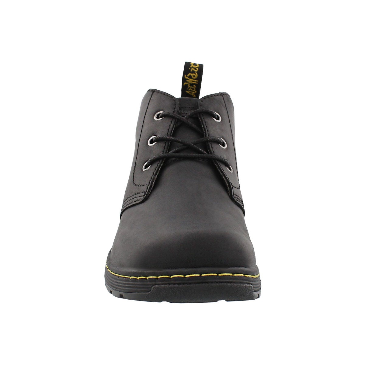 Mns Emil black oily lthr chukka boot