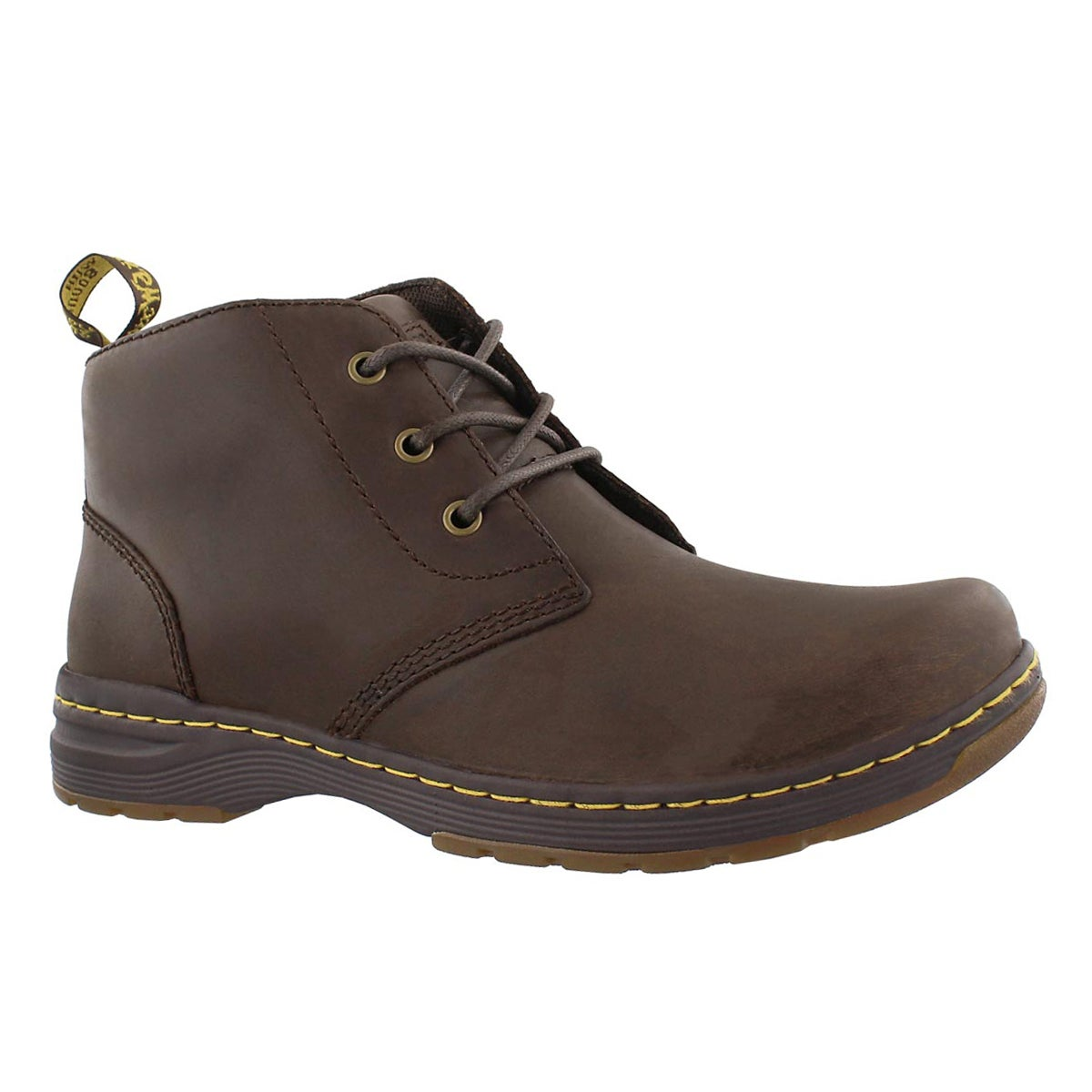 Men's EMIL brown oily leather chukka boot
