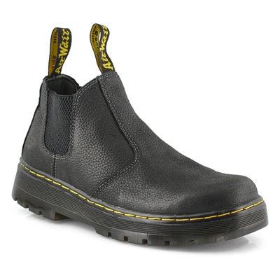 Mns Hardie black chelsea boot