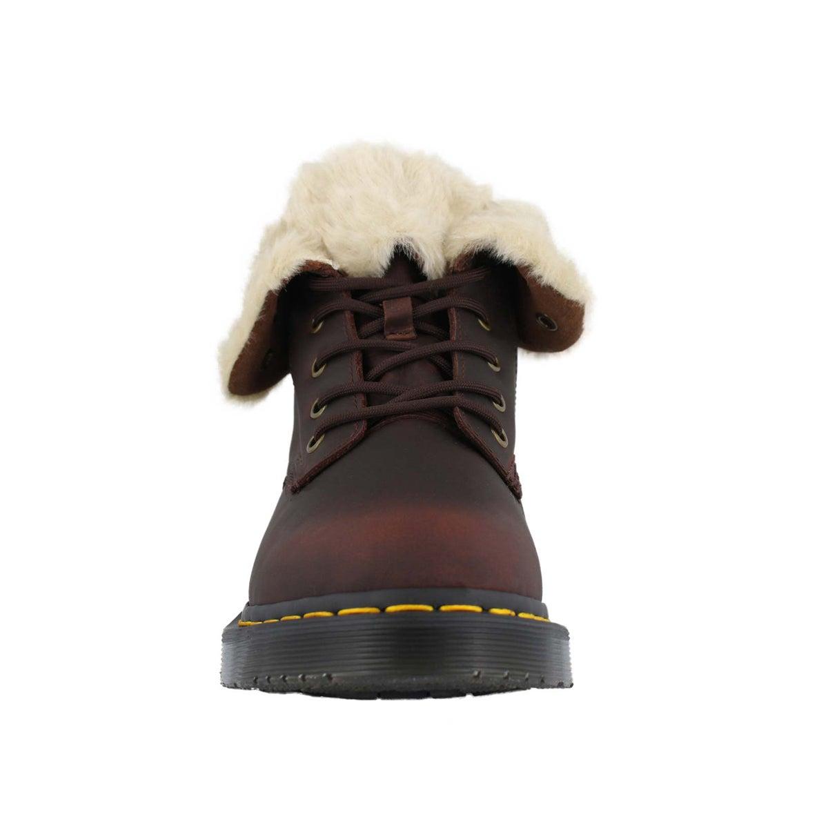 Lds 1460 Kolbert Snowplow brn wtpf boot