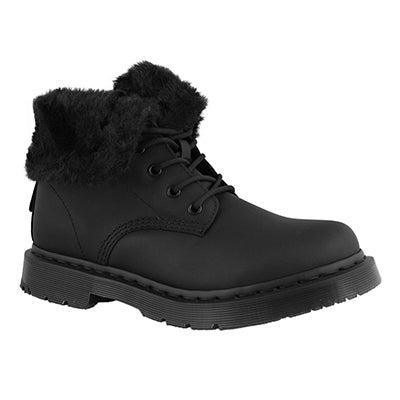 Lds 1460 Kolbert Snowplow blk wtpf boot