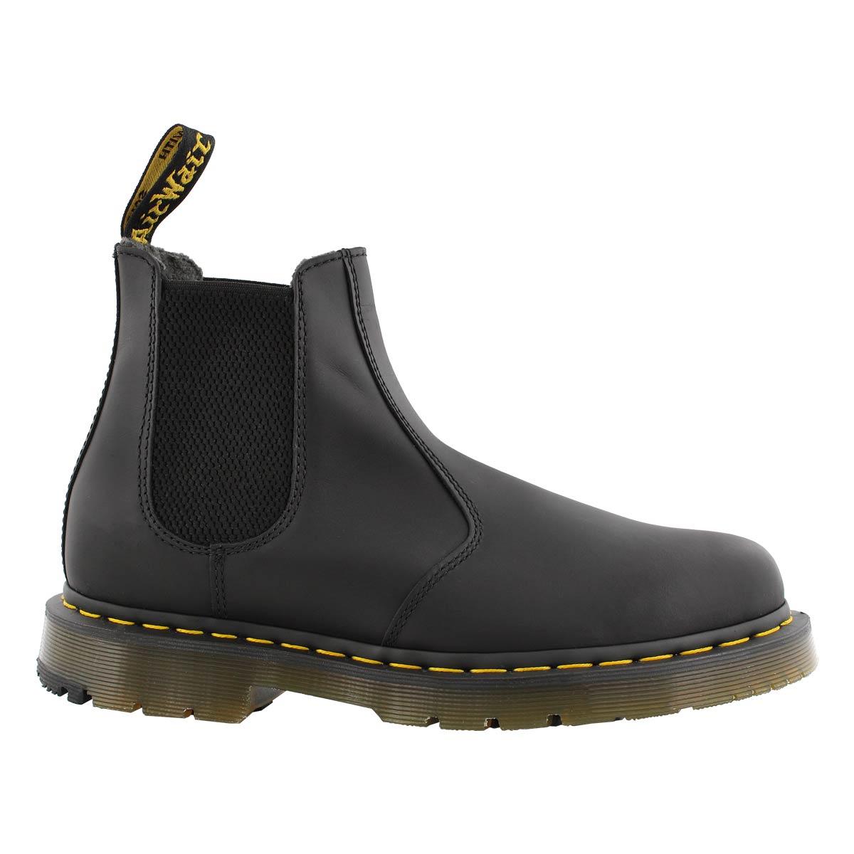 Mns 2976 Snowplow blk wtpf chelsea boot