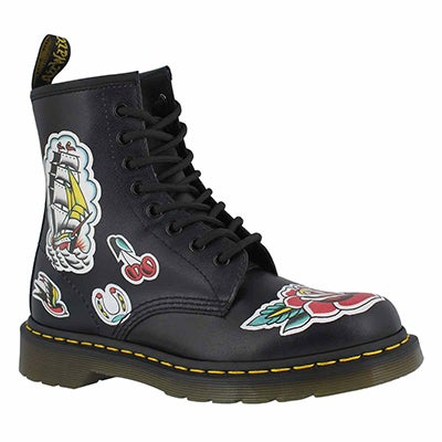 Mns 1460 O.T Asia blk/grey boot
