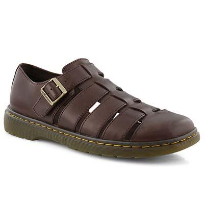 Mns Fenton dark brown casual sandal