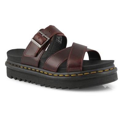 Lds Ryker charro 3 strap casual sandal