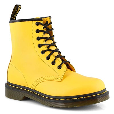 Lds 1460 8 eye yellow smooth boot