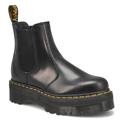 Lds 2976 Quad blk chelsea boot