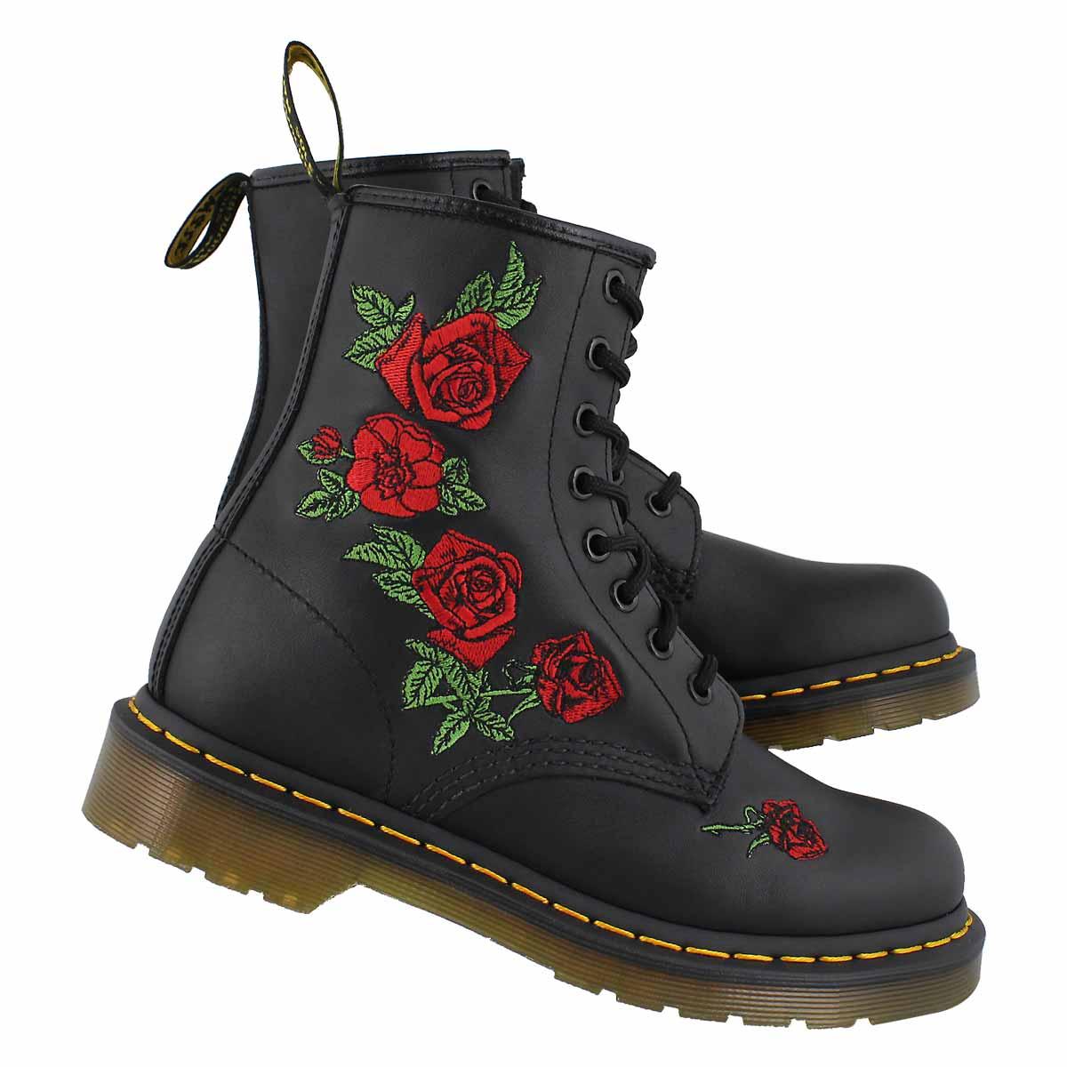 Lds 1460 Vonda black/red boot