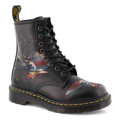 Lds 1460 Rick Griffin Eye blk boot