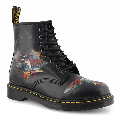 Mns 1460 Rick Griffin Eye blk boot