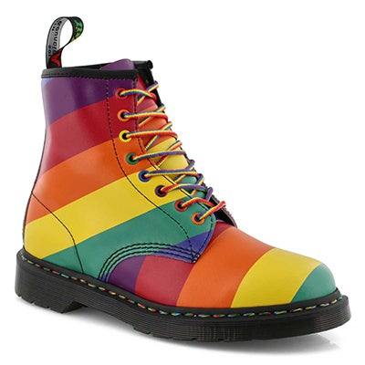 Mns 1460 Pride multi 8 eye boot