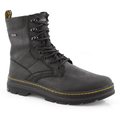 Mns Iowa black wtpf combat boot