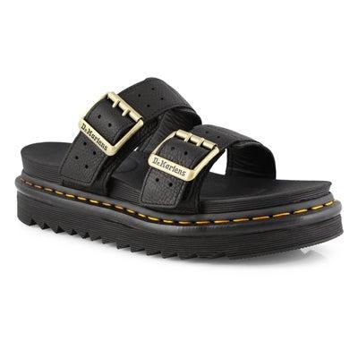 Mns Myles II black 2 strap casual sandal