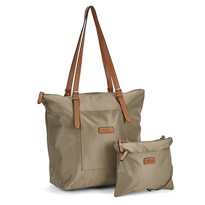 Roots Women's ROOTS73 R4324  kki 2 in 1 tote w/crossbody