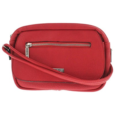 Roots Women's ROOTS73 R4381 coral east/west crossbody