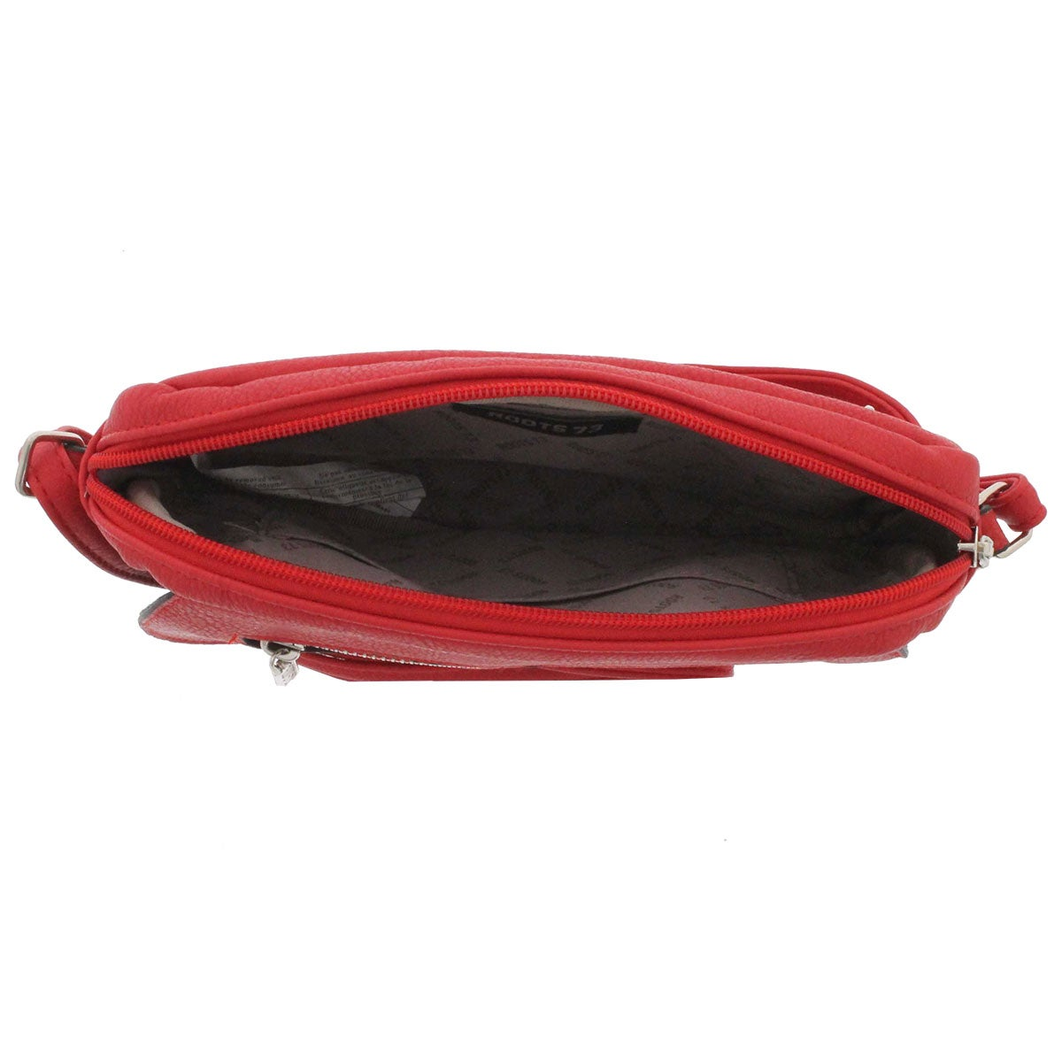 Lds Roots73 coral east/west crossbody