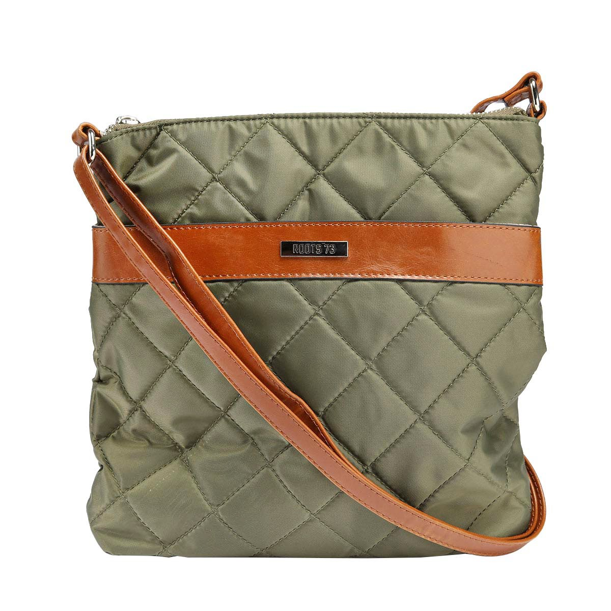Lds Roots73 kki quilted front crossbody