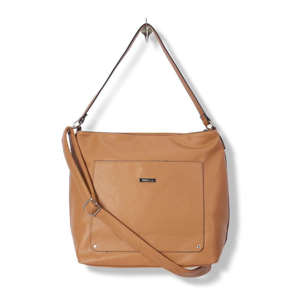 Lds Roots73 camel hobo handbag