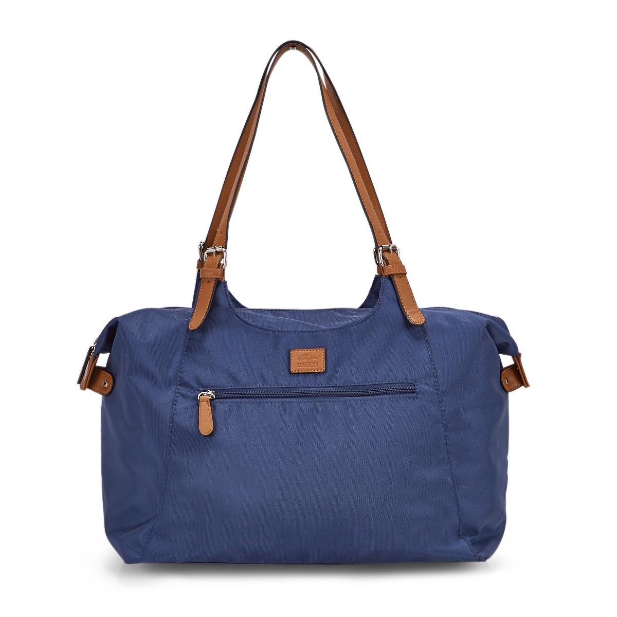 Lds Roots73 blue nylon large tote bag