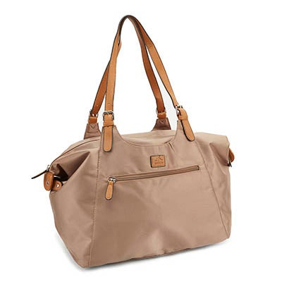 Roots Women's R4700 mocha large tote bag