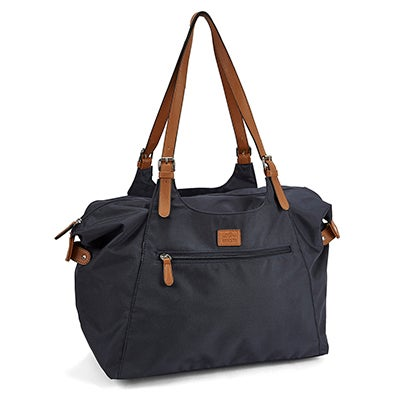 Roots Women's R4700 Roots73 navy large tote bag