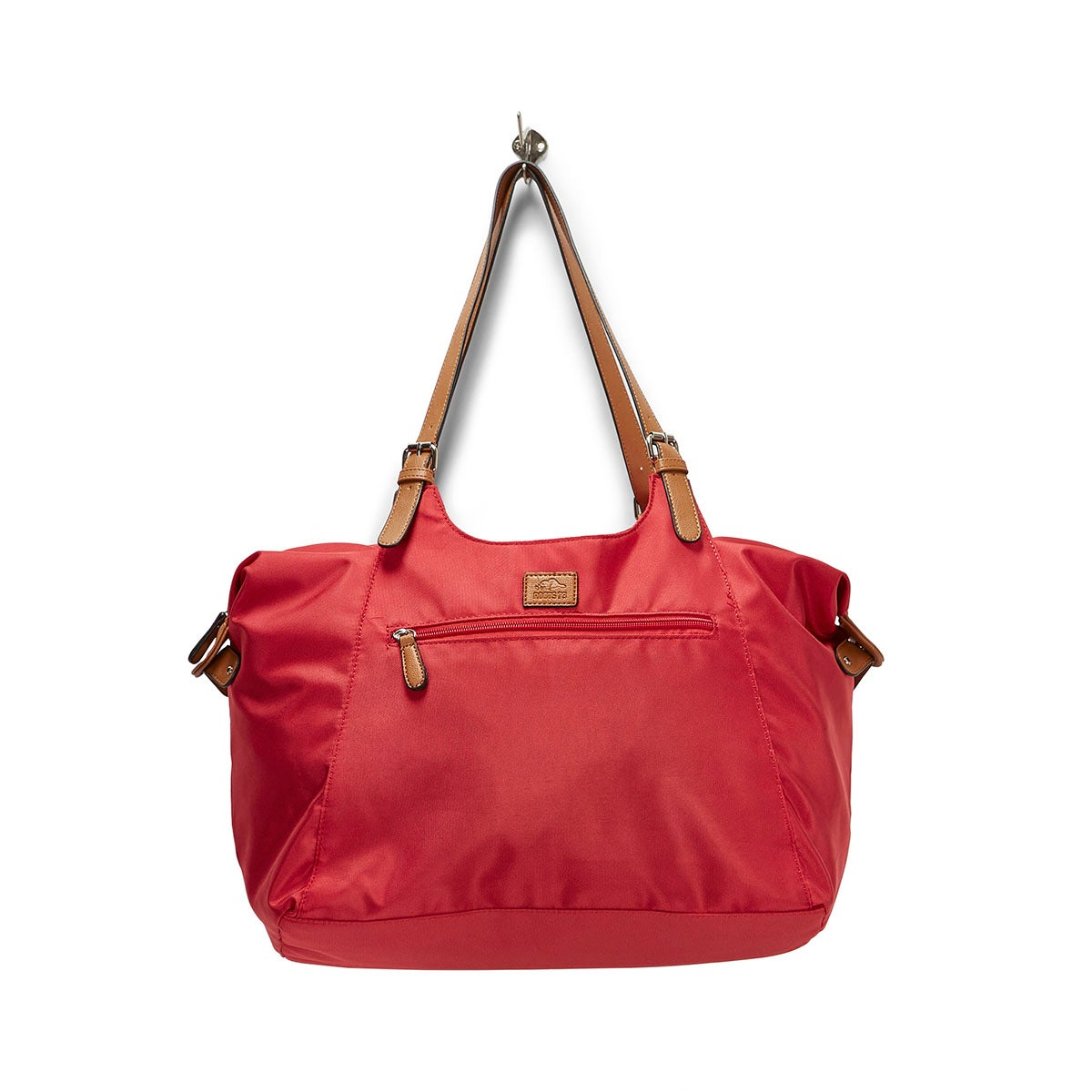 Lds Roots73 red nylon large tote bag