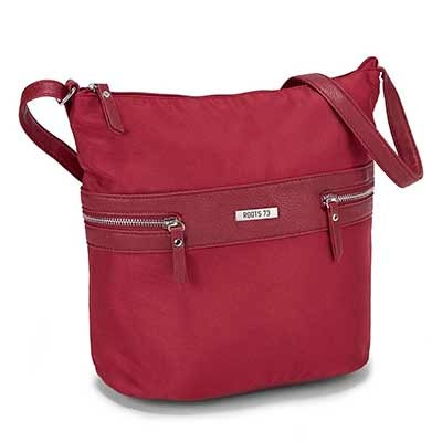 Roots Women's R4760 Roots73 red hobo bag