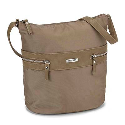 Roots Women's R4760 Roots73 taupe hobo bag