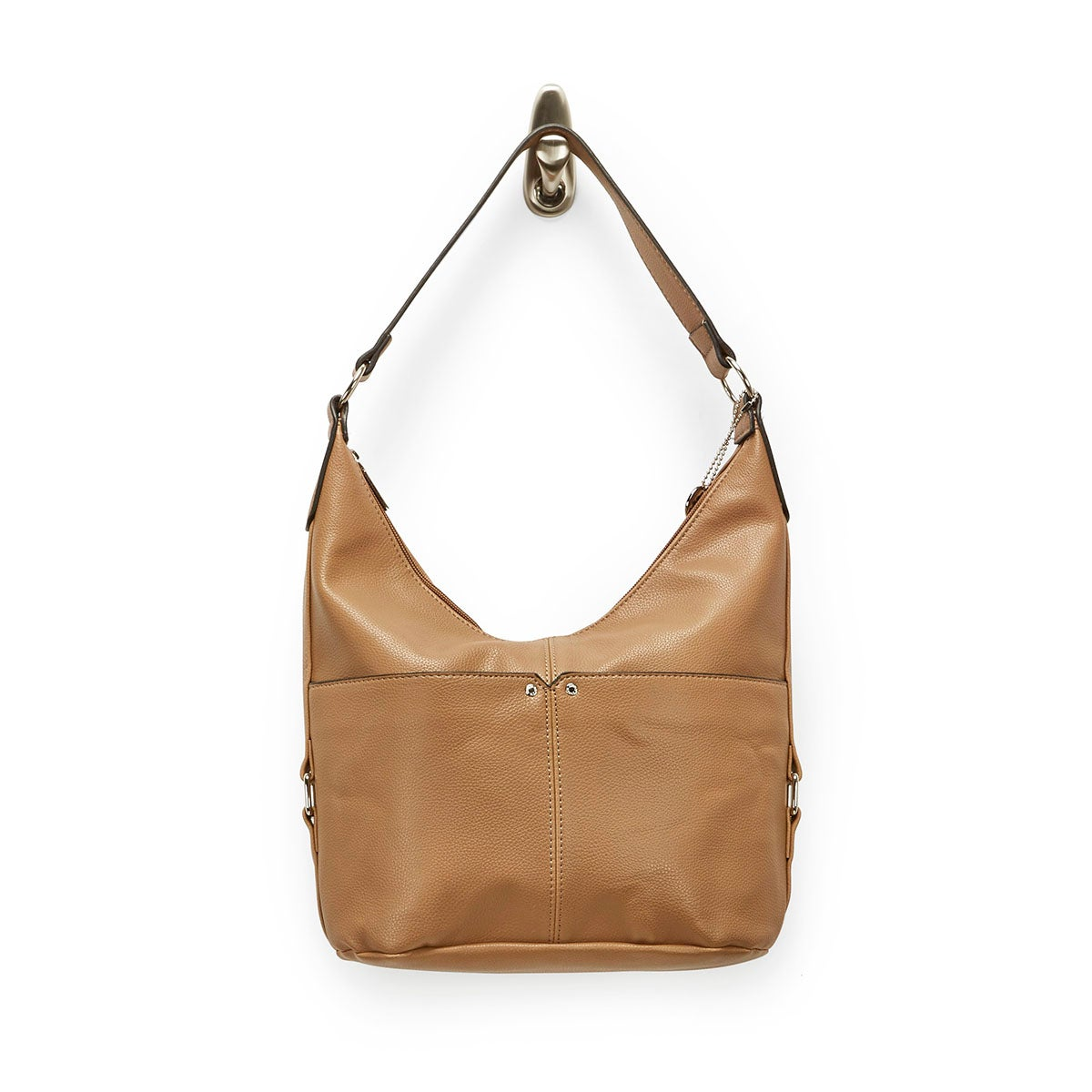 Lds Roots73 camel belted hobo bag