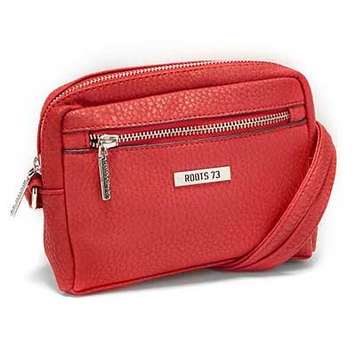 Roots Women's ROOTS73 R4763 red cross body bag