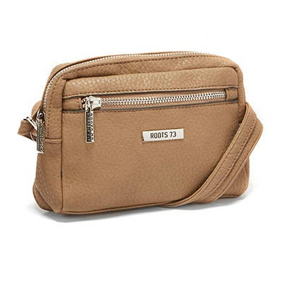 Roots Women's ROOTS73 R4763 taupe cross body bag