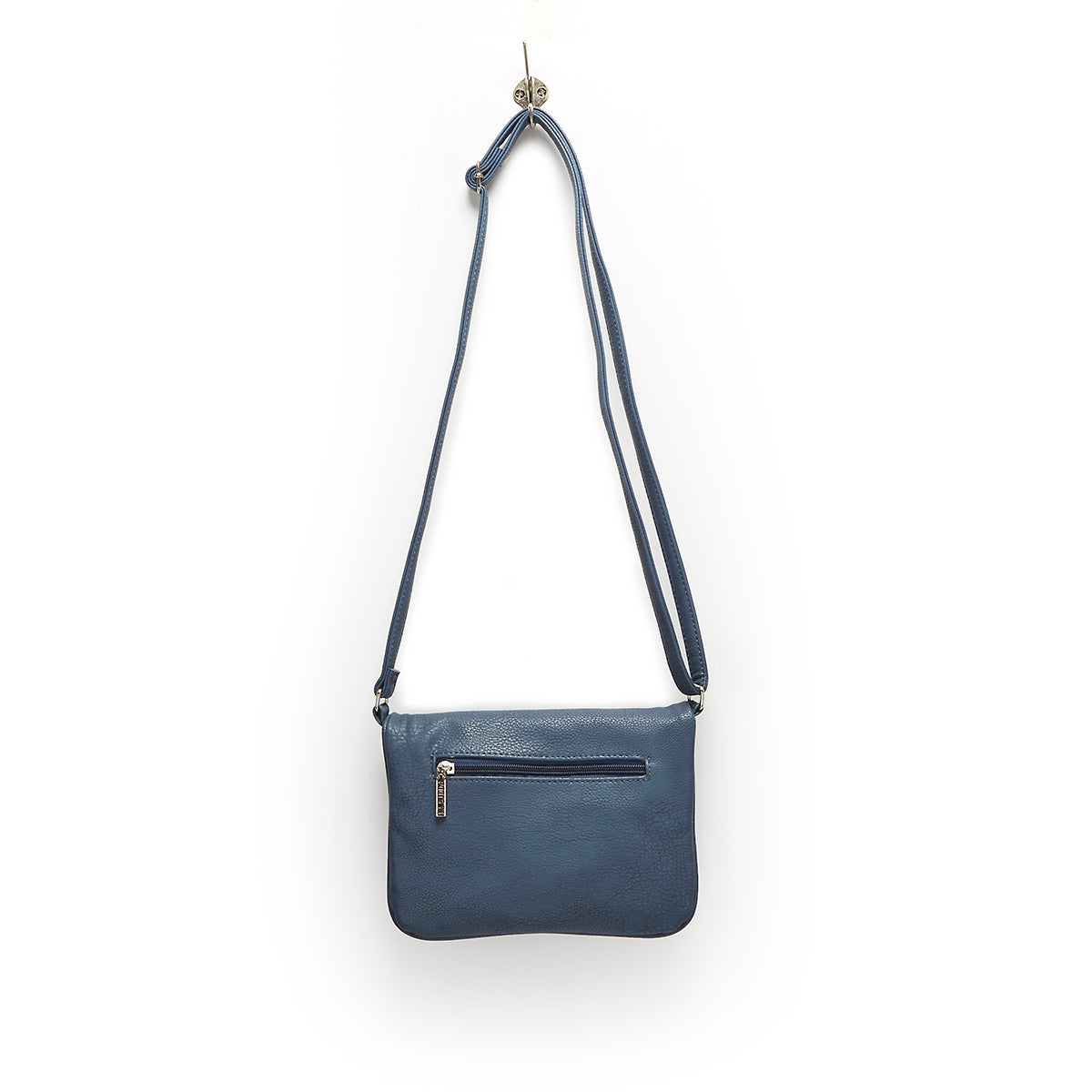 Lds Roots73 denm fold down crossbody bag