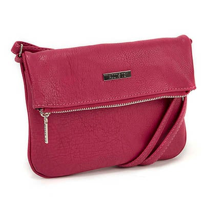Roots Women's ROOT73 R4764 fuchs fold down crossbody bag