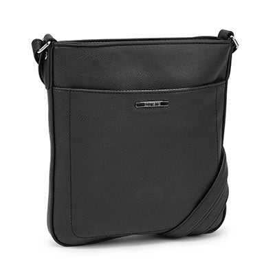 Roots Women's R4794 black north south cross body bag