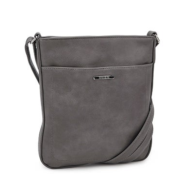 Roots Women's R4794 grey north south crossbody bag