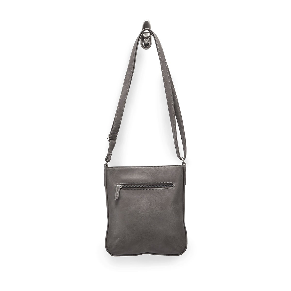 Lds Roots73 grey north south cross body