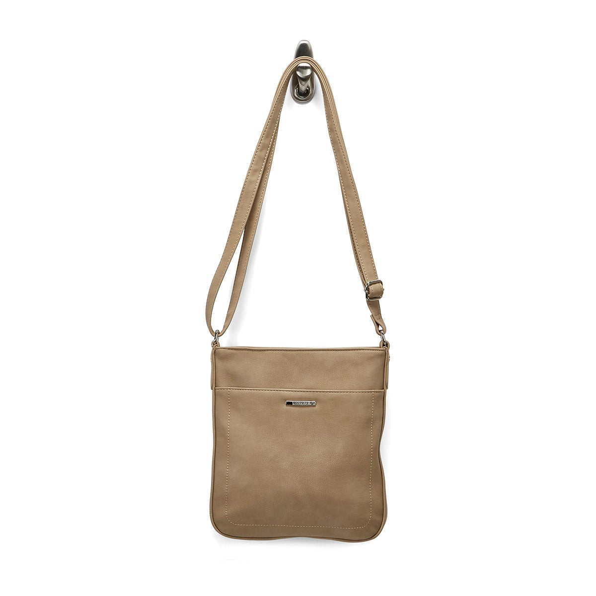 Lds Roots73 taupe north south cross body
