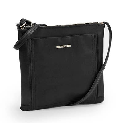 Roots Women's black north south crossbody bag