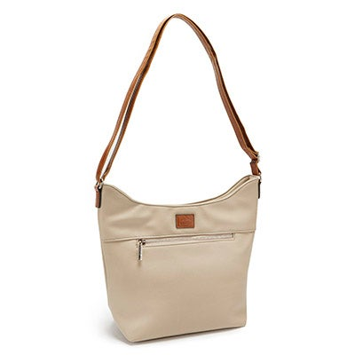 Roots Women's ROOT73 R4807 stone north/south zip hobo