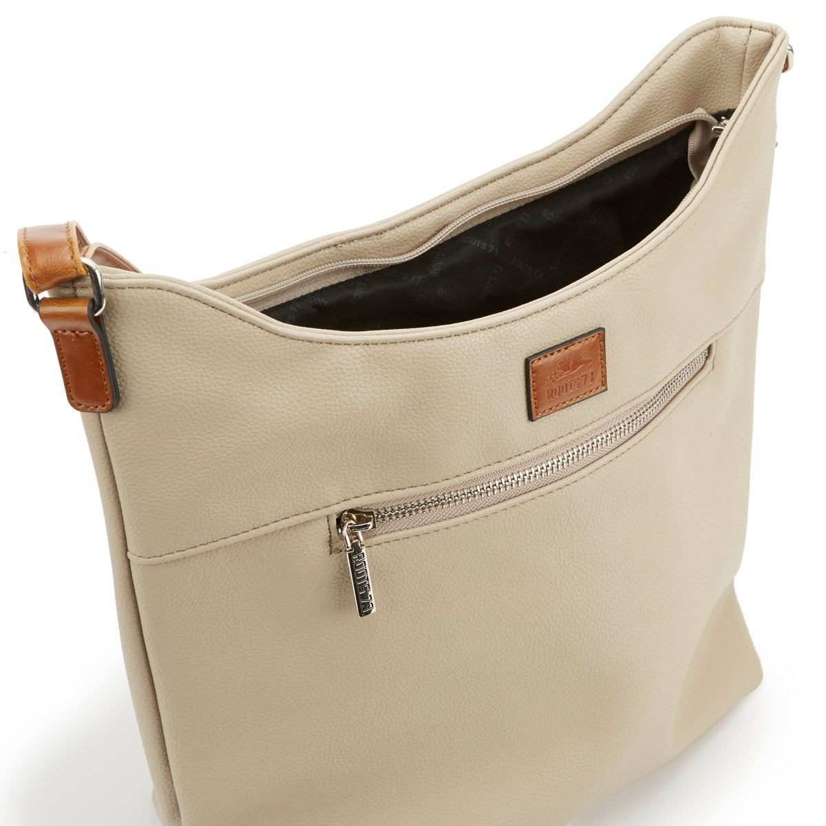 Lds Roots73 stn north/south zip hobo bag