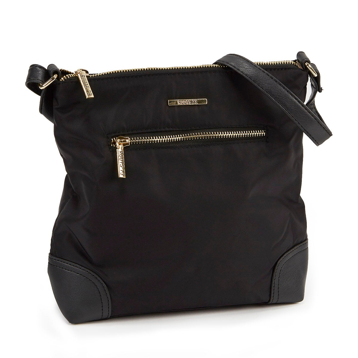 Women's ROOTS73 R4822 black north south crossbody