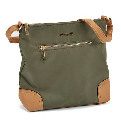 Roots Women's ROOTS73 R4822 khaki north south crossbody