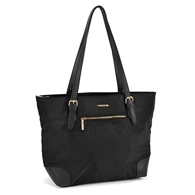 Roots Women's ROOTS R4824 black large satchel