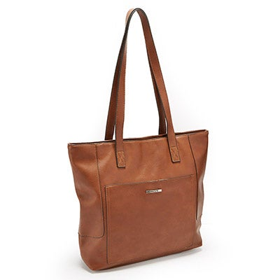 Roots Women's ROOTS73 R4850 cognac large to zip satchel