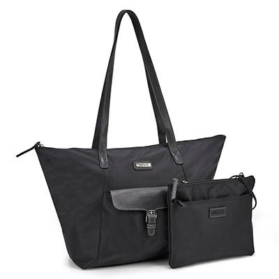 Roots Women's ROOTS73 R4866 black 2 in 1 tote bag