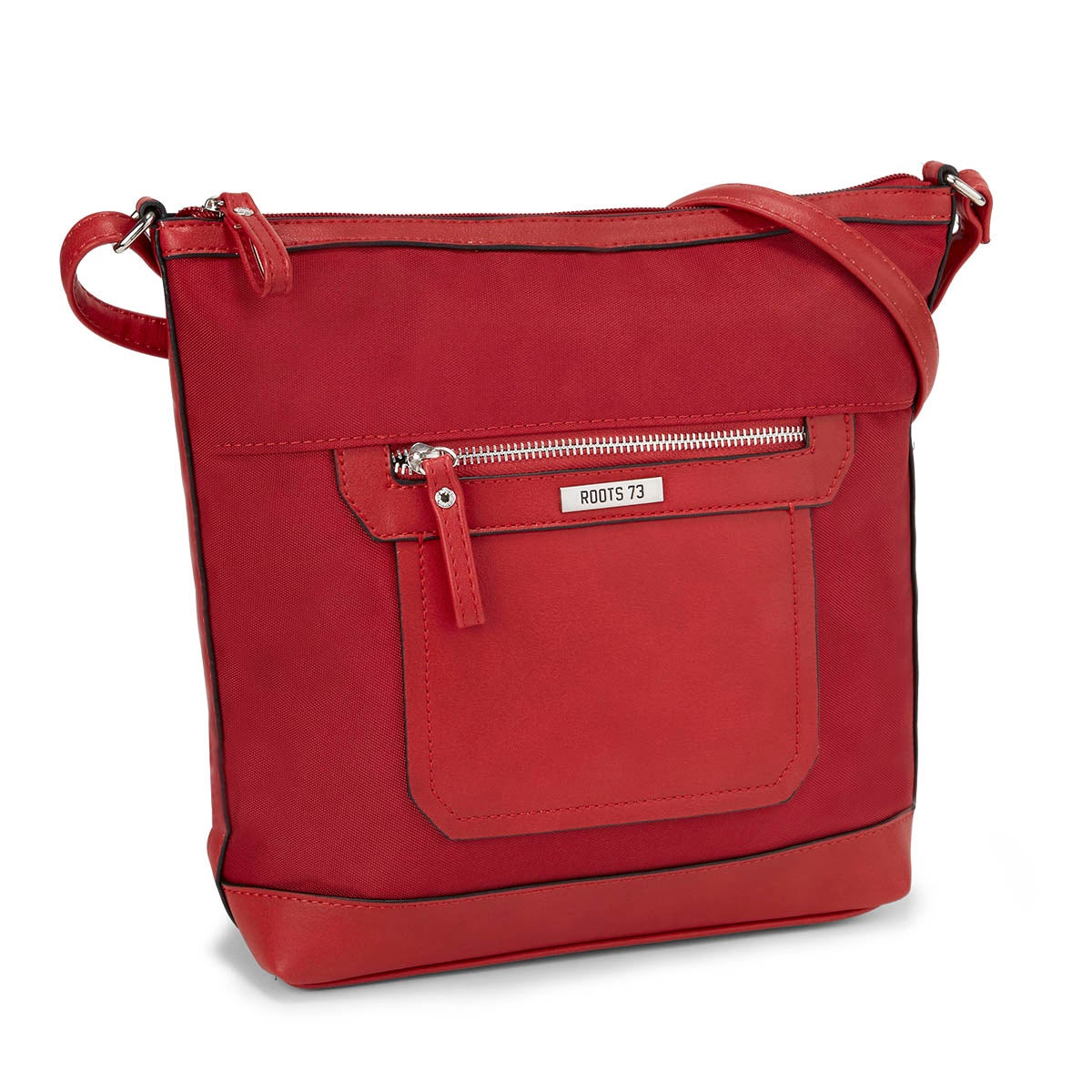 Lds Roots73 red front pocket crossbody