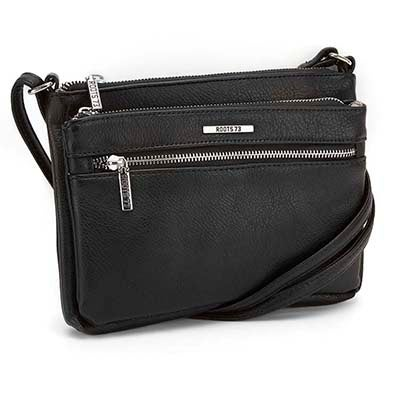 Roots Women's ROOTS73 R4885 black cross body bag