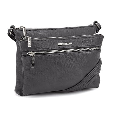 Roots Women's ROOTS73 R4885 grey cross body bag