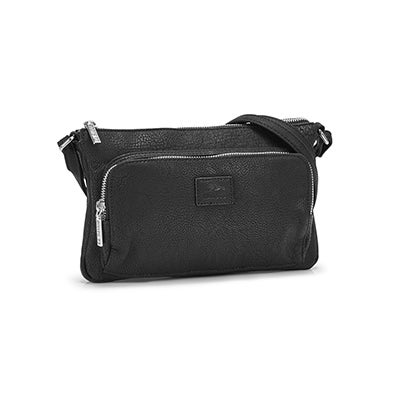 Roots Women's  R4886 black cross body bag